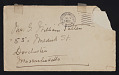 View Elizabeth Robins Pennell, New York, N.Y. letter to G. William Patten, Dorchester, Mass. digital asset: envelope