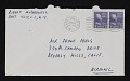View Robert Motherwell letter to Frank Perls digital asset: envelope