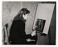 View Photograph of Marjory Morse painting digital asset number 0