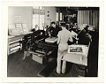 View Photograph of workers in a print shop for the WPA in Los Angeles digital asset number 0