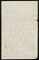 View Letter to John Frederick Peto (presumably from his father) congratulating him on 'arriving at the age of manhood' digital asset: page
