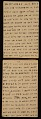 View Horace Pippin memoir of his experiences in France during World War I digital asset number 23
