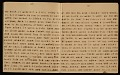 View Horace Pippin memoir of his experiences in France during World War I digital asset number 5