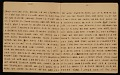 View Horace Pippin memoir of his experiences in France during World War I digital asset number 7