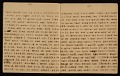 View Horace Pippin memoir of his experiences in France during World War I digital asset number 8