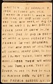 View Horace Pippin memoir of his experiences in France during World War I digital asset number 33