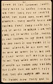 View Horace Pippin memoir of his experiences in France during World War I digital asset number 38
