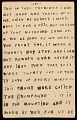 View Horace Pippin memoir of his experiences in France during World War I digital asset number 50