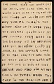 View Horace Pippin memoir of his experiences in France during World War I digital asset number 52