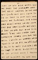 View Horace Pippin memoir of his experiences in France during World War I digital asset number 59