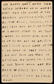 View Horace Pippin memoir of his experiences in France during World War I digital asset number 60