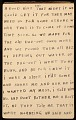 View Horace Pippin memoir of his experiences in France during World War I digital asset number 63