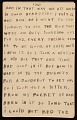View Horace Pippin memoir of his experiences in France during World War I digital asset number 66