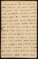 View Horace Pippin memoir of his experiences in France during World War I digital asset number 68