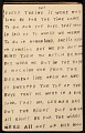 View Horace Pippin memoir of his experiences in France during World War I digital asset number 73