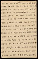 View Horace Pippin memoir of his experiences in France during World War I digital asset number 74