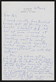 View Poindexter Gallery records digital asset: Olitski, Jules, Correspondence