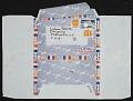 View Lee Krasner letter to Jackson Pollock digital asset: envelope