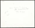 View Lee Krasner, Jackson Pollock, and an unidentified child digital asset: verso