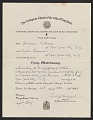 View Jackson Pollock and Lee Krasner marriage certificate digital asset number 0