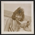 View Lee Krasner and Jackson Pollock on the beach digital asset number 0