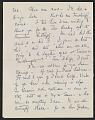 View Elizabeth Wright Hubbard letter to Lee Krasner digital asset: page 1