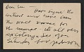 View Jackson Pollock postcard to Lee Krasner digital asset number 0