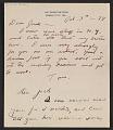 View Thomas Hart Benton and Rita Benton letter to Jackson Pollock digital asset number 0