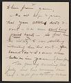 View Thomas Hart Benton and Rita Benton letter to Jackson Pollock digital asset number 1