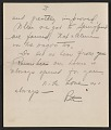 View Thomas Hart Benton and Rita Benton letter to Jackson Pollock digital asset number 2