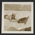View Jackson Pollock on the beach with a dog digital asset number 0