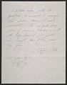 View Jackson Pollock letter to Clyfford E. Still digital asset number 0