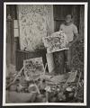 View Jackson Pollock in his studio digital asset number 0