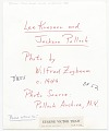 View Jackson Pollock and Lee Krasner digital asset: verso