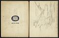 View Fairfield Porter sketchbook digital asset: sketchbook page 1