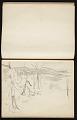 View Fairfield Porter sketchbook digital asset: sketchbook page 5