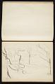 View Fairfield Porter sketchbook digital asset: sketchbook page 7