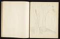 View Fairfield Porter sketchbook digital asset: sketchbook page 10