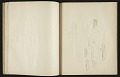 View Fairfield Porter sketchbook digital asset: sketchbook page 12