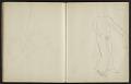 View Fairfield Porter sketchbook digital asset: sketchbook page 30
