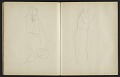 View Fairfield Porter sketchbook digital asset: sketchbook page 32
