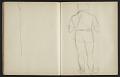 View Fairfield Porter sketchbook digital asset: sketchbook page 33