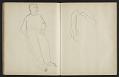 View Fairfield Porter sketchbook digital asset: sketchbook page 34
