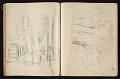 View Fairfield Porter sketchbook digital asset: sketchbook page 73