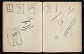 View Fairfield Porter sketchbook digital asset: sketchbook page 79