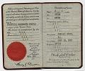 View Fairfield Porter's passport digital asset: page