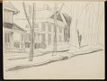 View Fairfield Porter sketchbook digital asset: sketchbook page 5
