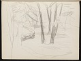 View Fairfield Porter sketchbook digital asset: sketchbook page 59