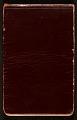 View James D. Preston autograph book digital asset: cover back