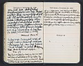 View Abraham Rattner diary digital asset: pages 18